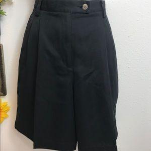 Liz Claiborne Bermuda Shorts Size 8 Petite Black